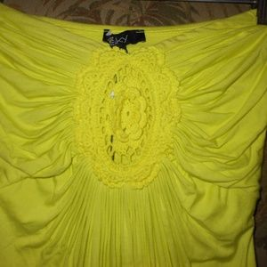 SKY Brand NEON Strapless Dress!! Small--NWT